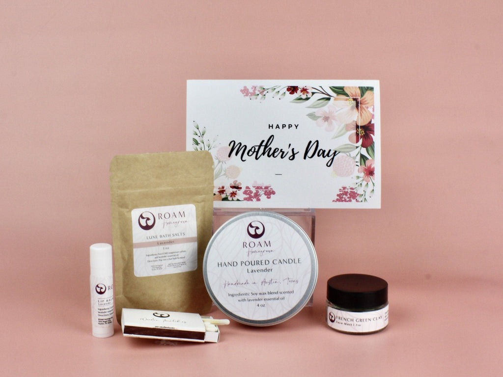 Mother's Day Spa Gift Box birthday gift box ROAM Homegrown