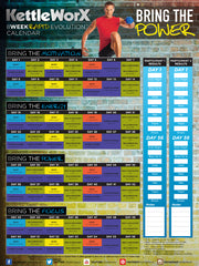 8 Week Rapid Evolution Calendar