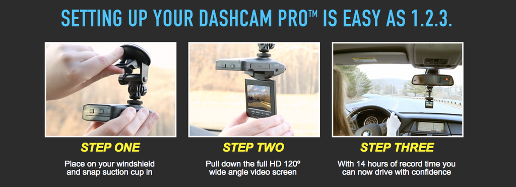 DashCam Pro Set Up