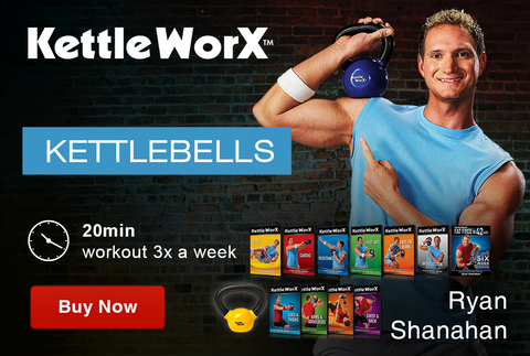 2016 Transformation KettleWorX Kettlebell at-home workout program