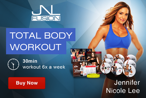 2016 Transformation JNL Fusion at-home fitness DVD program