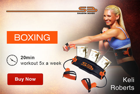 2016 Transformation ShadowBoxer Boxing at-home DVD workout program