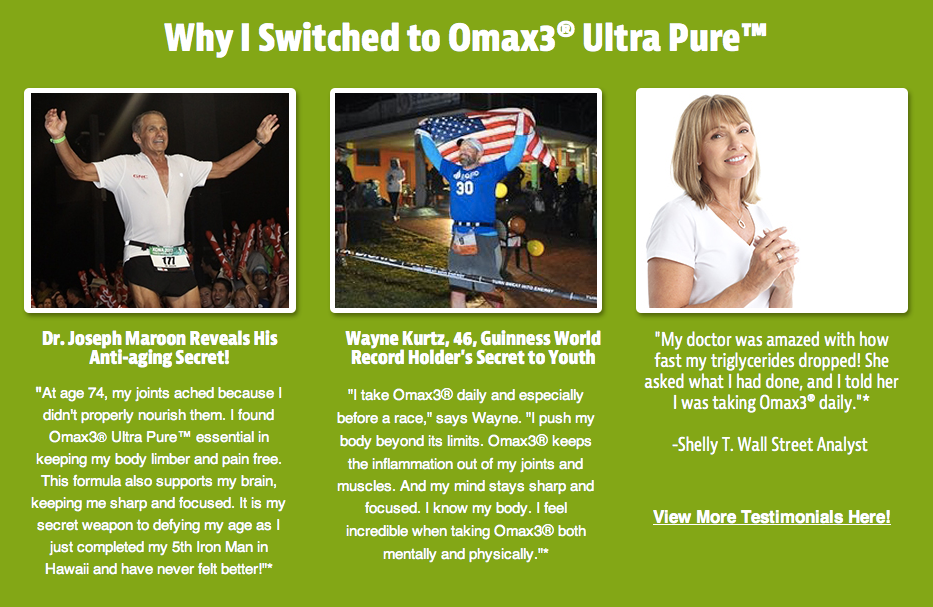 Why I switched to Omax3 UK Testimonial