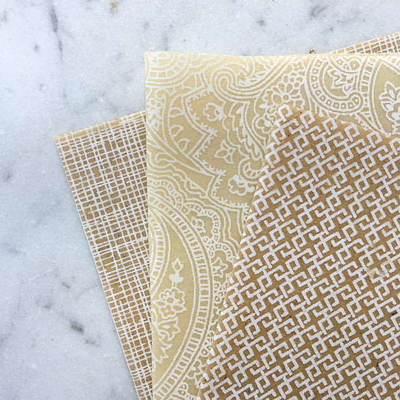 3 x Assorted Beeswax Wraps | Palm Beach Collection