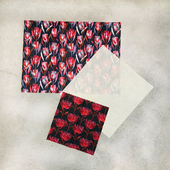 3 x Assorted Beeswax Wraps | Jocelyn Proust