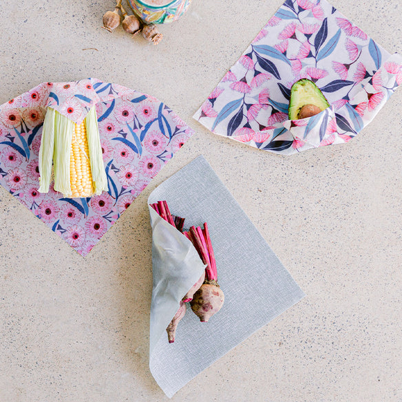 3 x Medium Beeswax Wraps | Jocelyn Proust