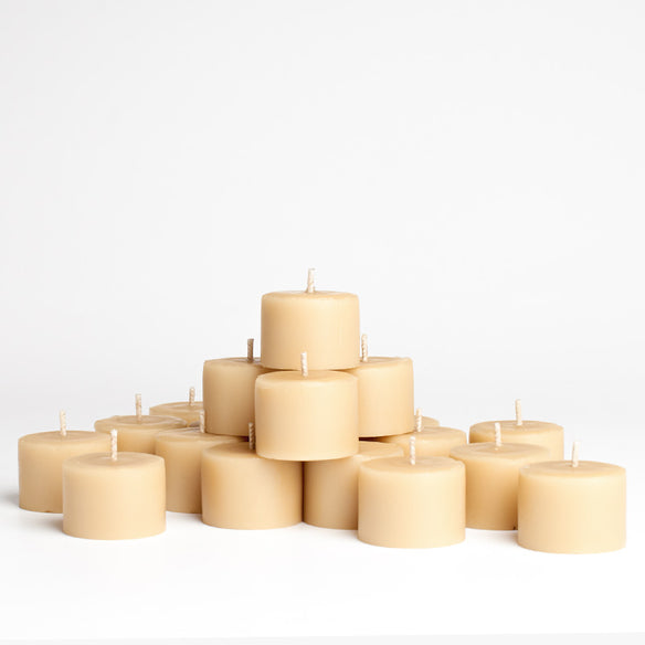 Tealight Beeswax Candles (Refills) | 8-9hr Burn Time