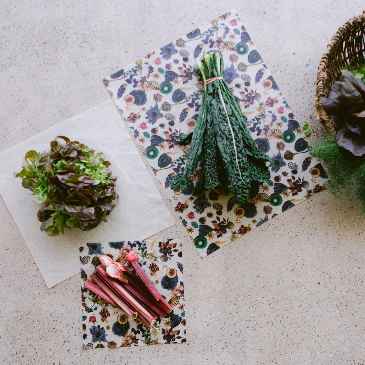 3 x Assorted Beeswax Wraps | Made with Liberty Fabric