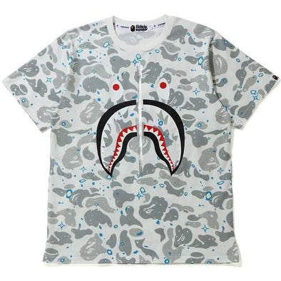 Bape Space Camo Full Shark Tee (White)