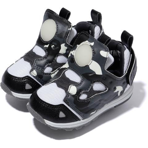 Bape x Reebok Versa Pump Fury Mita Kids Sneakers (City Camo)