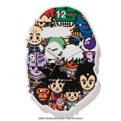 Bape Dragon Ball Z Wall Clock