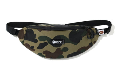 Bape 1st Camo Waist Bag (Green)