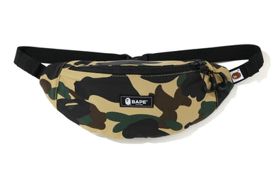 Bape 1st Camo Waist Bag (Yellow)