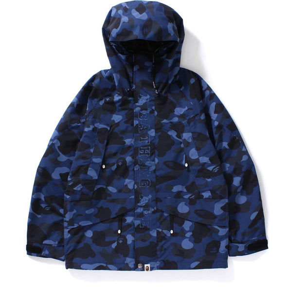 Bape Color Camo Snowboard Jacket (Blue)