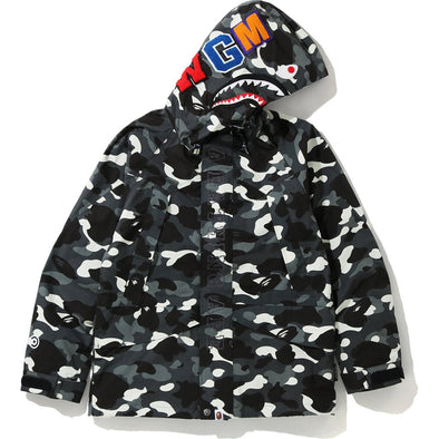 BAPE CITY CAMO SHARK SNOWBOARD JACKET