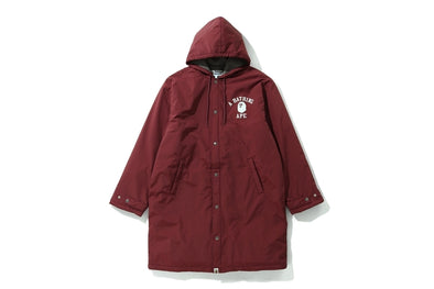 BAPE BENCH COAT (MAROON)