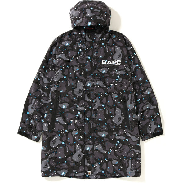 BAPE Space Camo Bathing Ape Long Hoodie Jacket