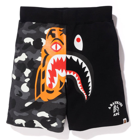 Bape City Camo Tiger Sweatshorts (Black)