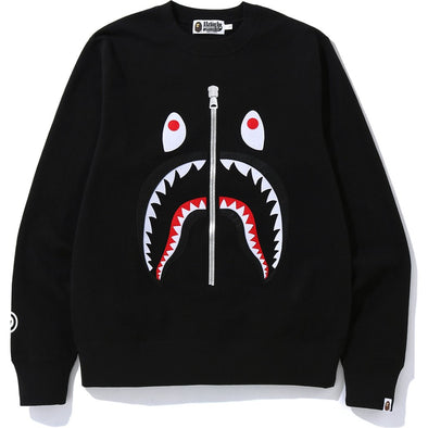 Bape Shark Crewneck (Black)