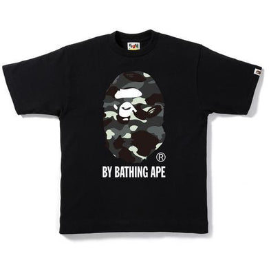 Bape City Camo By Bathing Ape Glow In The Dark Tee (Black)