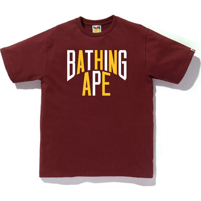 Color NYC Logo Tee (Maroon)
