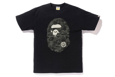 Bape Reflector ABC Big Ape Head Tee (Grey)