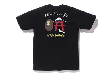 Bape Embroidery Style Japan Culture Tee (Black)