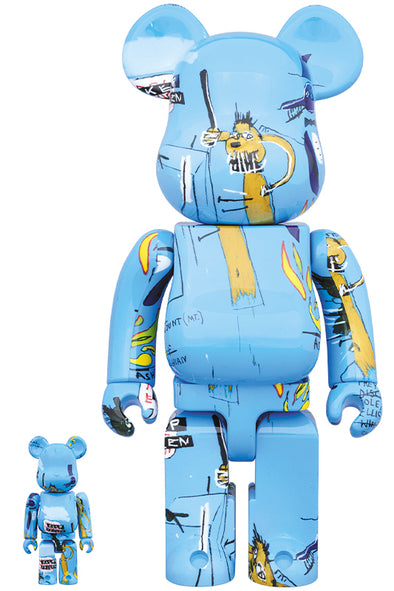 Jean-Michel Basquiat Bearbrick #4 100% + 400% Set