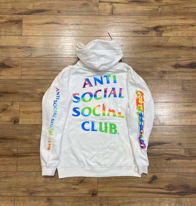 ASSC x Undefeated Hoodie (White) (AntiSocialSocialClub)