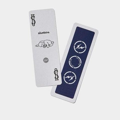 The Conveni x Fragment Bicycle Playing Card (Navy)