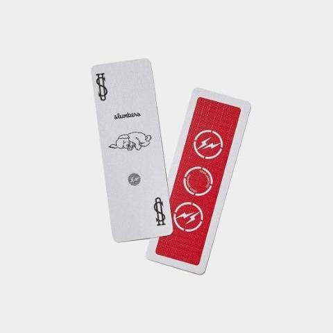 The Conveni x Fragment Bicycle Playing Card (Red)