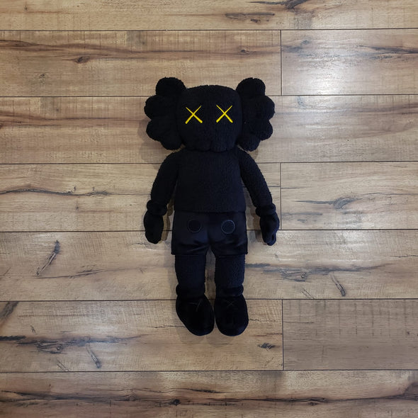 "KAWS HOLIDAY Hong Kong Limited 20"" Plush Black"