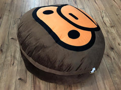 BAPE MILO X CHOCOOLATE MILO OVERSIZE CUSHION