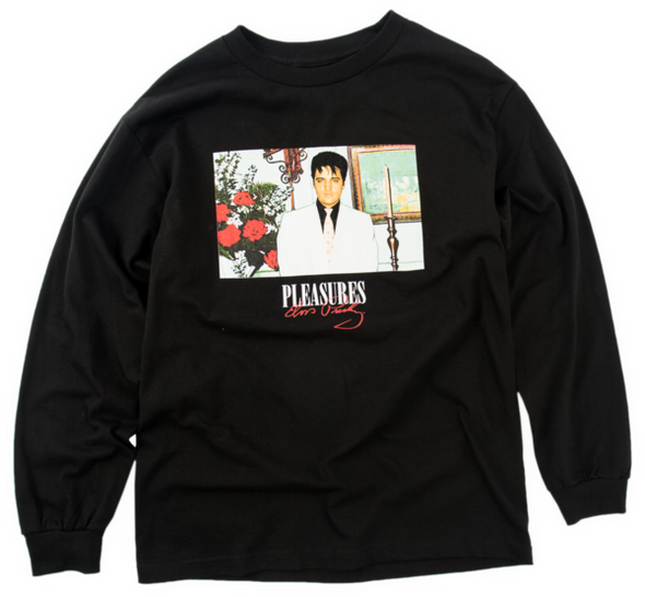 Pleasures Memorial L/S T-Shirt (Black)