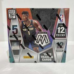 2019-2020 Panini Mosaic (12PACKS/5CARDS) Red Wave & Gold Wave Prizms Tmall Edition