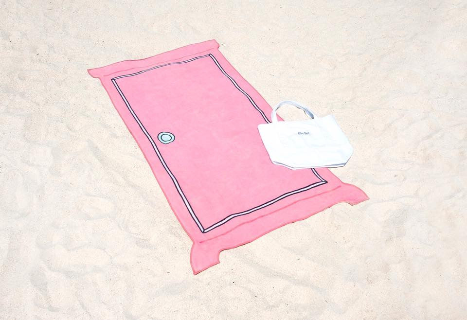 Dokodemo Door Beach Towel / Doraemon Oversize Tote Bag Combo : doraemon door - pezcame.com