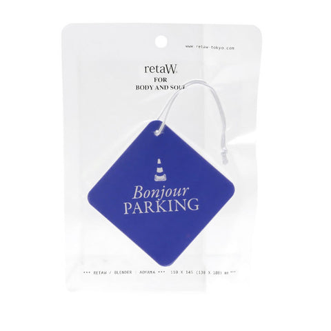 RetaW Bonjour/PARKING Fragrance Car Tag