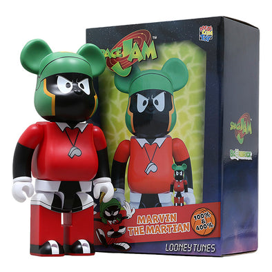 Marvin The Martian Be@rbrick (Space Jam)  400%&100%