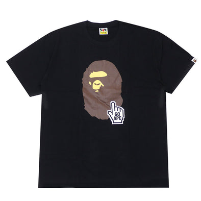 A BATHING APE BAPE ONLINE TEE (Black)