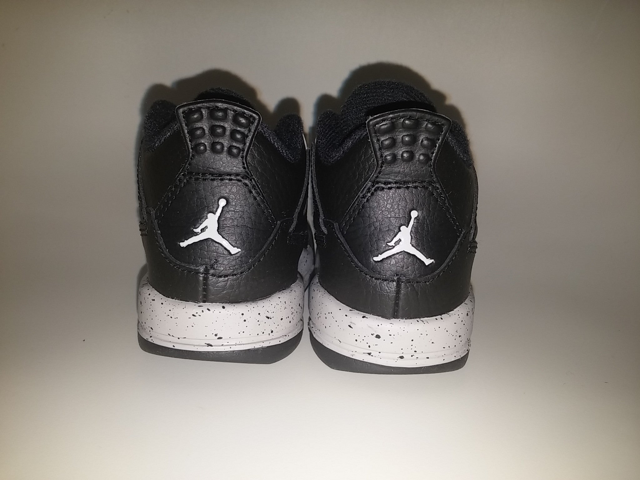 ab48e5ddacdefb NIKE AIR BABY JORDAN 4 RETRO BT TD OREO 707432-003 toddler ...