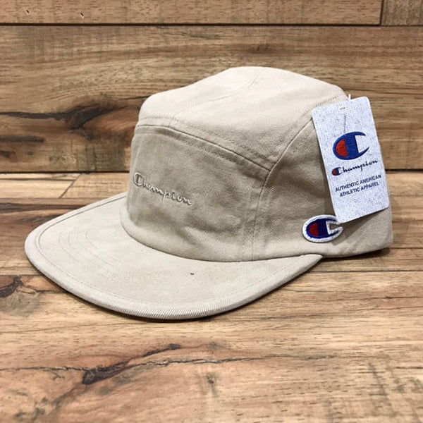 Champion 5 Panel Camp Cap (Khaki)