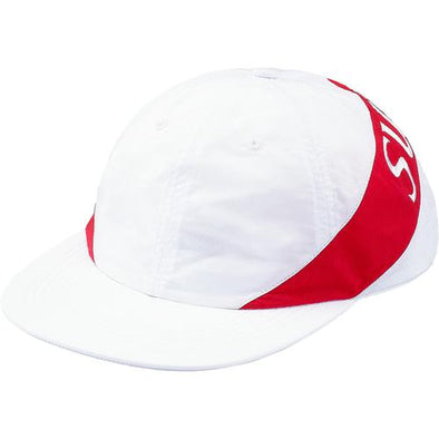 Supreme Nylon Arc 6-Panel Camp Cap (White)