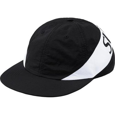 Supreme Nylon Arc 6-Panel Camp Cap (Black)