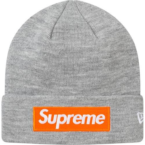 Supreme Box Logo New Era Beanie FW17(Grey)