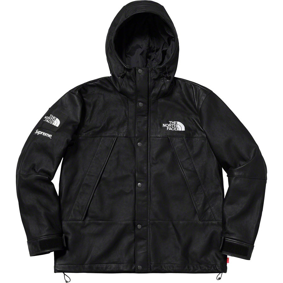 8c51094c42 Supreme x The North Face Leather Mountain Parka (Black) – Superbored ...