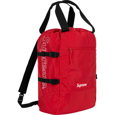 Supreme Tote Backpack (Red)