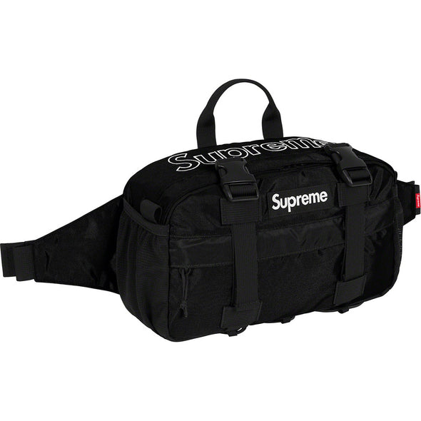Supreme FW19 Waist Bag (Black/Teal/Magenta/Camo)