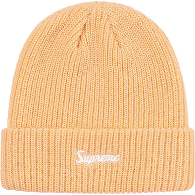 Supreme Loose Gauge Beanie (Cream)