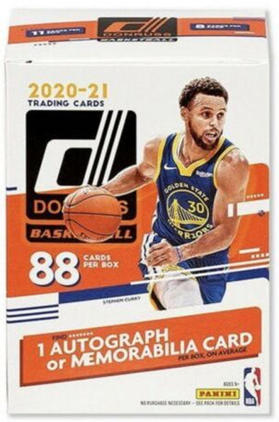 2020-21 Panini Donruss Basketball Blaster Box 88cards(1 autograph/memorabilia card)