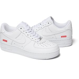 Supreme®/Nike® Air Force 1 Low (White) (Pre-Order)